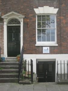 The Harbourside Practice: Front door entrance